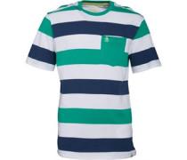 Original Penguin Junior Stripe T-Shirt Spearmint