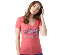 Damen Cali Sport T-Shirt Rosameliert