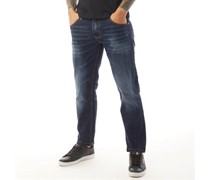 Lonicera Jeans in Slim Passform Dunkel Denim