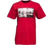 Kangaroo Poo Herren T-Shirt Rot