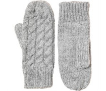 Damen Handschuhe Grau