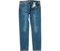 Herren 502 Jeans mit zulaufendem Bein Verblasstes Blau