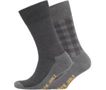 Levi's Mens 2 Pack Graphic Sock 884 Jet Black