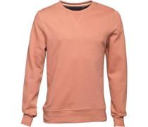 Herren Sweatshirt Winter Pink