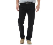 Crosshatch Herren Jenson Fit ed Jeans in Slim Passform Schwarz