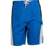 Kangaroo Poo Herren Panelled Boardshorts Blau