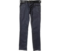 Crosshatch Mens Bolt Jeans Raw