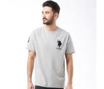 U.S. POLO ASSN. Herren Abbott T-Shirt Grau