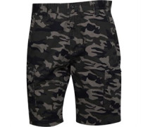 Camouflage Druck Cargo Shorts Grün Tarnfarbe