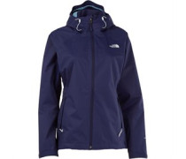 THE NORTH FACE Damen Sequence 3 Layer Hyvent Waterproof Patriot Performance Jacket Blau