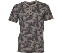 Herren T-Shirt Steingrau