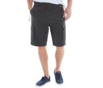 Herren Loke Cargo Shorts Pirate Black