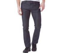 Herren Thin Finn Jeans in Slim Passform Dry Dark Grey