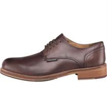 Ben Sherman Mens Pat Lace Shoes Brown