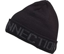 French Connection Herren FC Jacquard Beanie Mütze Schwarz