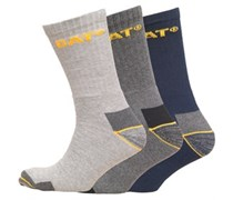 Herren Workwear Wandersocken Navy/Light Grey/Charcoal Marl