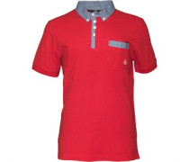 Duck and Cover Herren mond Mars Polohemd Rot