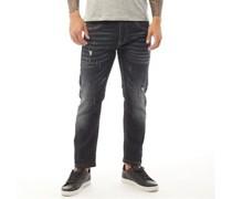 Monteagle Jeans in Slim Passform Verblasstes
