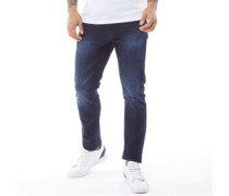 Moriarty Jeans in Slim Passform Verblasstes Dunkel