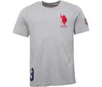 Herren Garrison T-Shirt Graumeliert