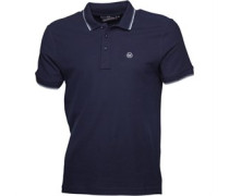 Duck and Cover Herren Duran French Polohemd French Navy