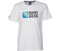Canterbury Herren 215 Logo T-Shirt Weiß