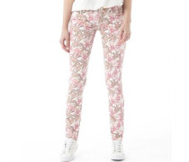 Damen ST Jeans in Slim Passform Mehrfarbig