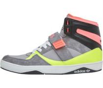 adidas Originals Damen Space Diver 2. Hi-s AluminiumLeadElectricity Sneakers Grau