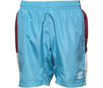 Umbro Junior Embassy Shorts Sky Blue/Claret/White