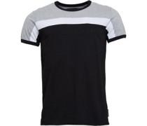 Block 2 T-Shirt Hellgraumeliert