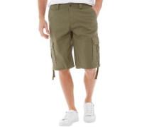 Herren Rashne Cargo Shorts Khaki
