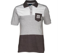Henleys Herren Shock Athletic Polohemd Grau