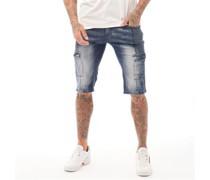 Porter Denim Shorts Verwaschenes