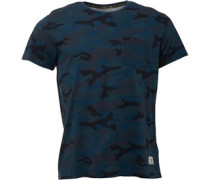Kennebec River Camo T-Shirt Navy