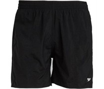 Solid Leisure 16 Inch Water Short Black