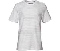 Farah Vintage Herren Hebden T-Shirt Gestreift