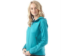 Damen Strandhall Fleece Türkis