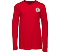 Junior CTP Left Chest Long Sleeve Top Red