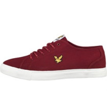 Lyle And Scott Vintage Mens Teviot Twill Pumps Ketchup Red