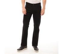Stretch Bootcut Fit Jeans mit geradem Bein