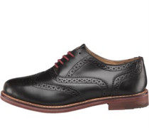 Ben Sherman Mens Oxford Brogue Shoes Brown
