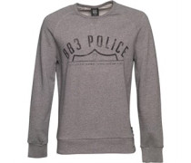 Herren Wester Sweatshirt Marl Grey
