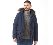 JACK AND JONES Mens Follow Parka Navy Blazer