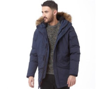 Duck And Cover Mens Arctic Jacket Deep Navy