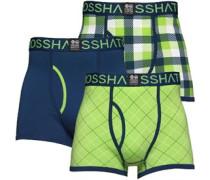 Crosshatch Herren Tartastic Jasmine Estate Boxershorts in lose Passform Mehrfarbig