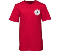 Converse Junior CTP Left Chest T-Shirt Red