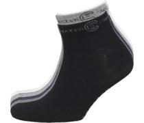 Herren Tendon 5 Packung Trainer Socken Grau