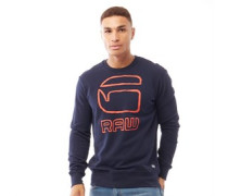Graphic Sweatshirt Navy