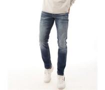 Glenn Original Jos 206 Jeans in Slim Passform Verwaschenes