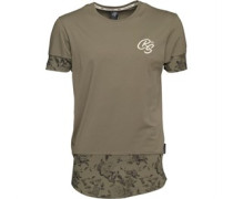 Millards T-Shirt Khaki
